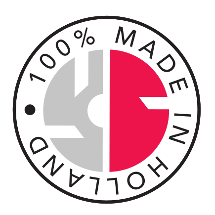100% made in Holland
